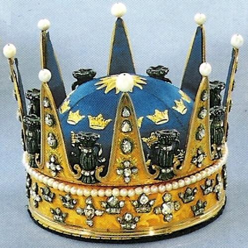 The crown of Princess Sophia Albertina 1771