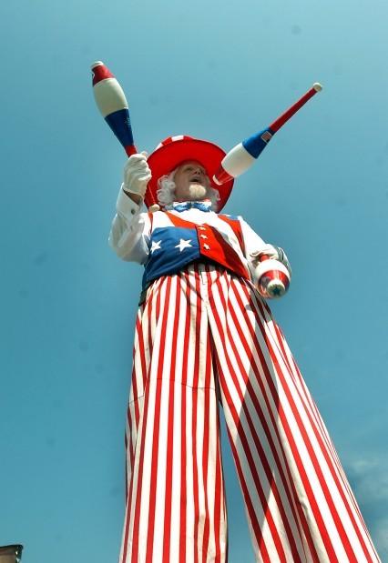 Uncle Sam at the Midland 4th of July Parade (Photo by Sylvester Washington Jr.)
