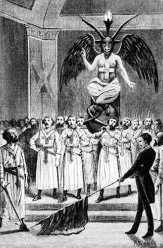 Baphomet, the Templars, and some sort of absurd Victorian Charlatan