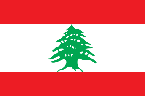 The Flag of Lebanon