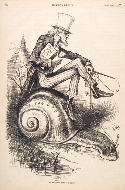 Uncle Sam (Thomas Nast, 1877, engraving)