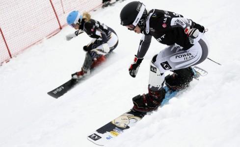 Parallel Snowboard Slalom