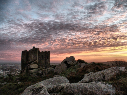 Carn Brea Castle by Tristan Barratt