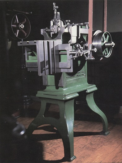 I honestly couldn't find any photos of vintage machines that looked as scary as any of the real ones I saw...