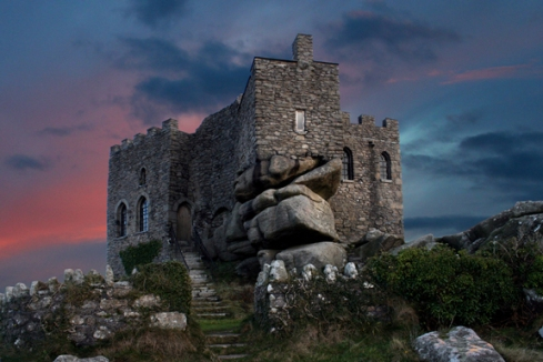 Carn Brea Castle in Cornwall