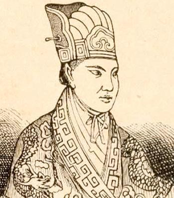Hong Xiuquan (drawing from circa 1860)