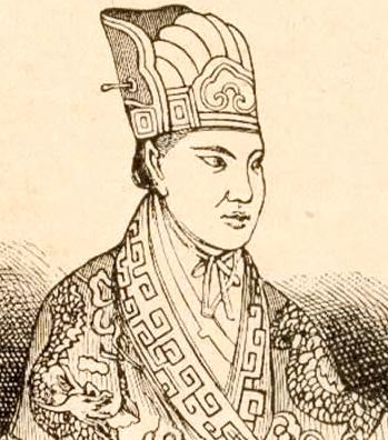 Hong Xiuquan (drawing from circa 1860)