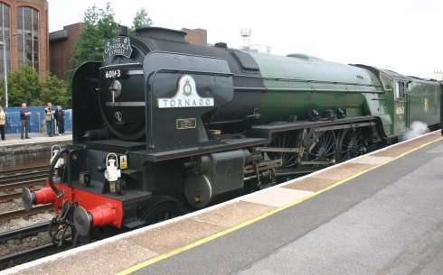 60163 Tornado Locomotive