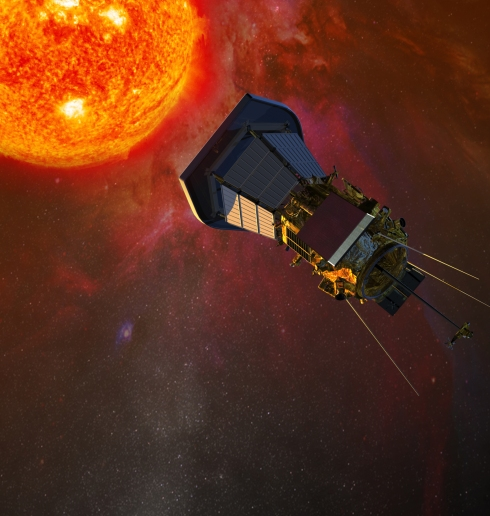 An artist's conception of Solar Probe Plus (Credit: JHU/APL)