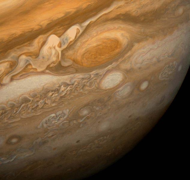 The Great Red Spot of Jupiter as imaged by Voyager I