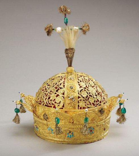 Crown of Bahadur Shah II (circa 1825-50)