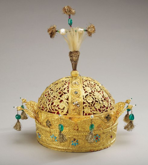 Crown of Bahadur Shah II (circa 1825-50)
