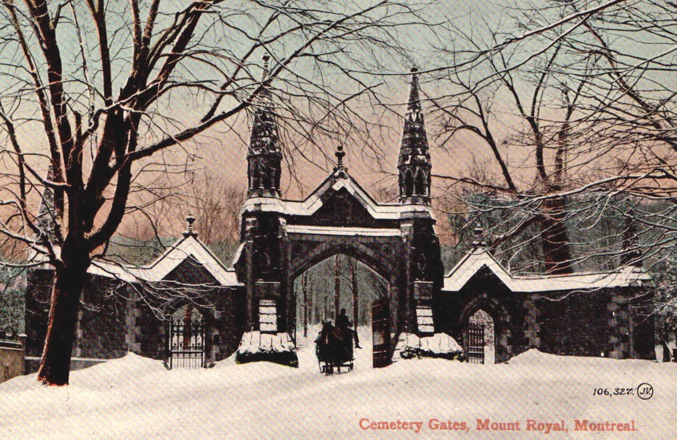 Mount Royal Cemetery , Montreal
