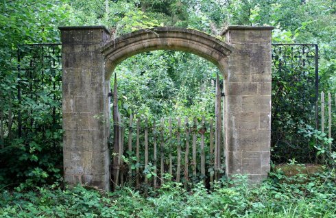Unknown Abandoned Gate