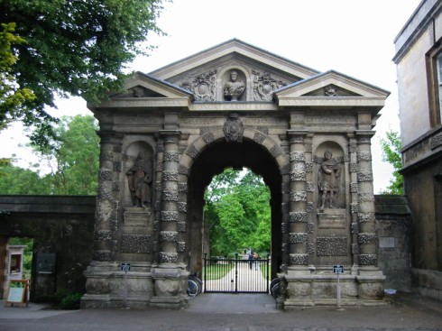 Gate at Oxford University