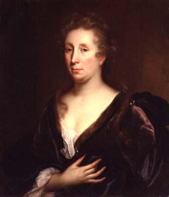 Portrait of Rachel Ruysch (Godfried Schalcken, ca. 1706)