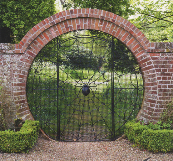 Spider Gate to Hoveton Hall Gardens