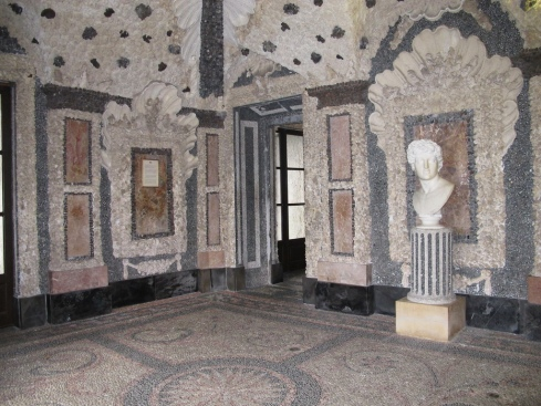 The Shell Grotto at Isola Bella