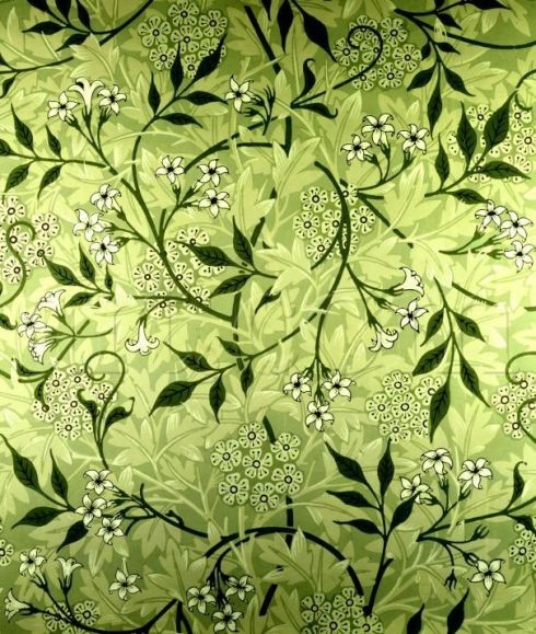 19th century wallpaper by William Morris