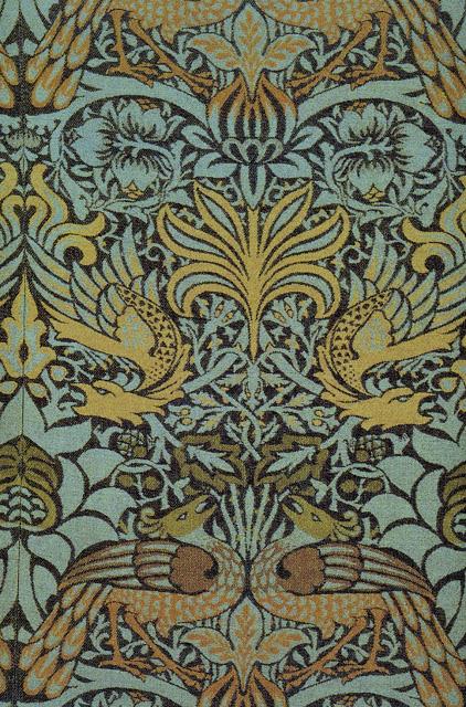 19th century wallpaper by William Morris