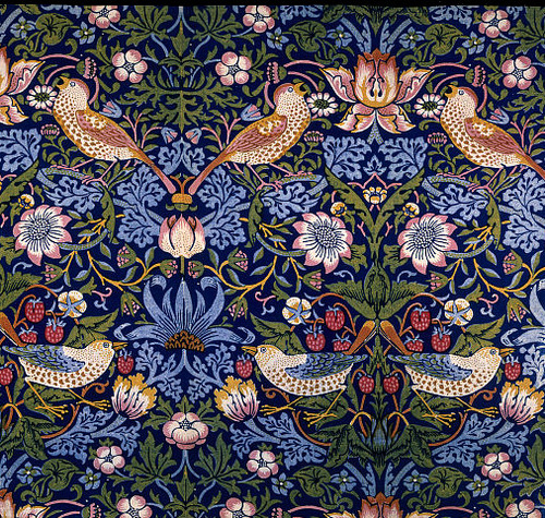 William Morris Wallpaper: Ferrebeekeeper