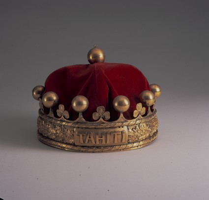 The Crown of the Kingdom of Tahiti