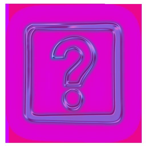 112711-glowing-purple-neon-icon-alphanumeric-question-mark