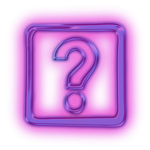 112711-glowing-purple-neon-icon-alphanumeric-question-mark