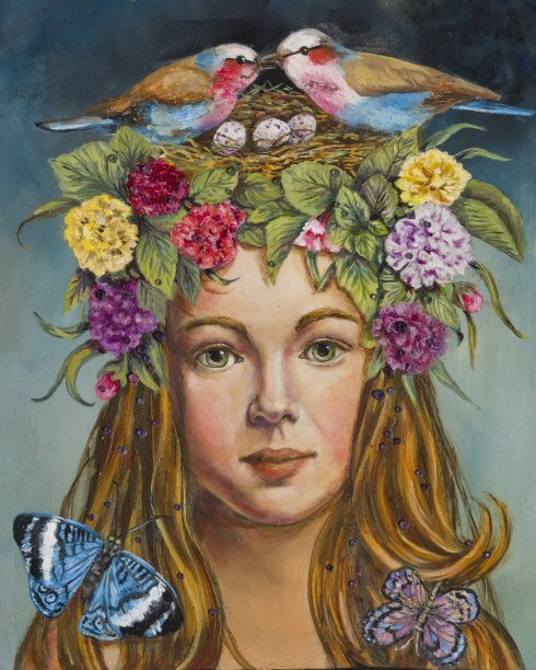 Primavera: Allegory of Spring (Ann Marie Campbell)