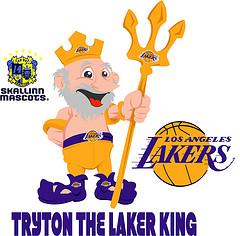 """""""Tryton the Laker King"""" (it beats me)"""