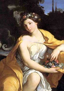 Allegory of Spring (Carlo Cignani, 1628–1719, oil on canvas)