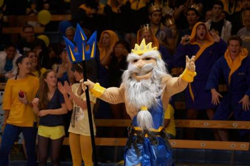And, once again, the UCSD King Triton mascot...