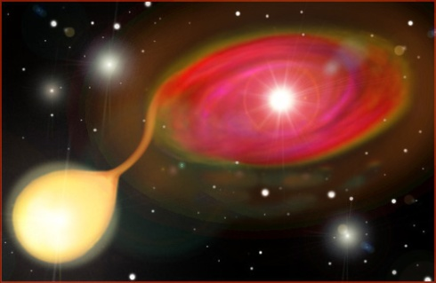 An Artist's Conception of a Type Ia Supernova
