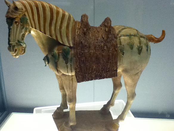 Tang dynasty Ceramic Horse