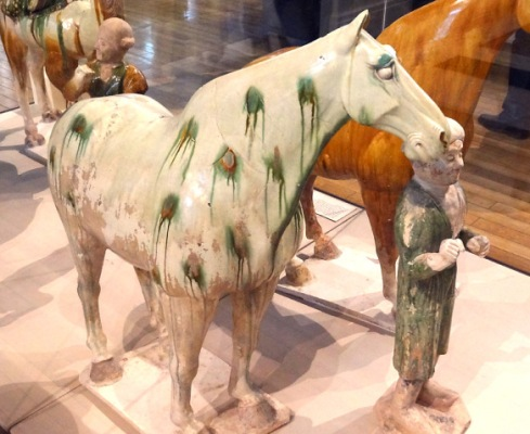 Tang Dynasty Horses at the British Museum