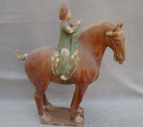A contemporary knock-off of a Tang Horse