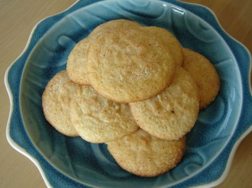 Lemon Mace Sugar Cookies
