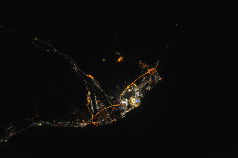 Sochi Winter Olympics from Space