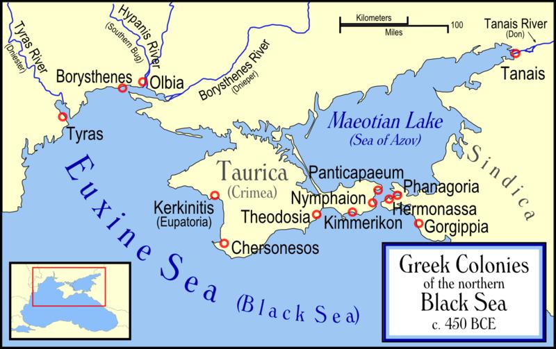 Ancient Greek Colonies on the Black Sea