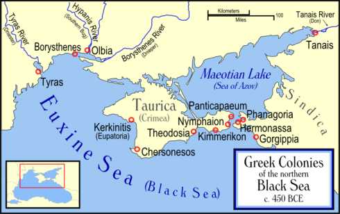 Ancient Greek Colonies on the Black Sea