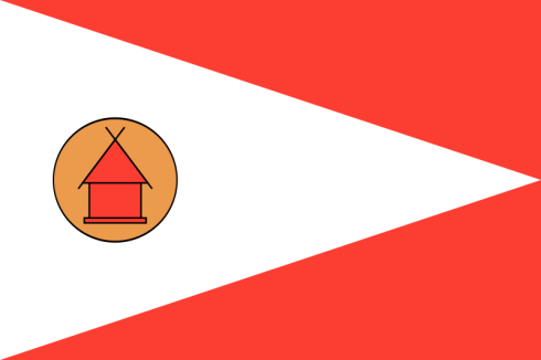 The Modern Flag of the Merina People