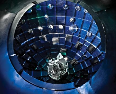 The NIF Target Chamber