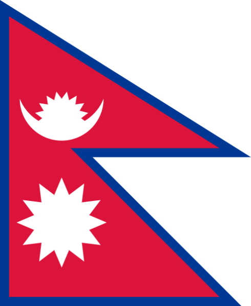 The Flag of Nepal