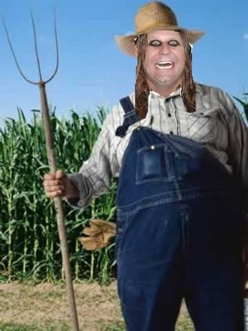 Fat Cat Farmer: mascot of Stilwell High, Stilwell, OK