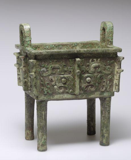 Fang Ding (ca. 1100-1000 BC, cast bronze)