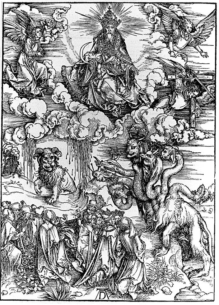 Albrecht Durer, 1498, woodblock print