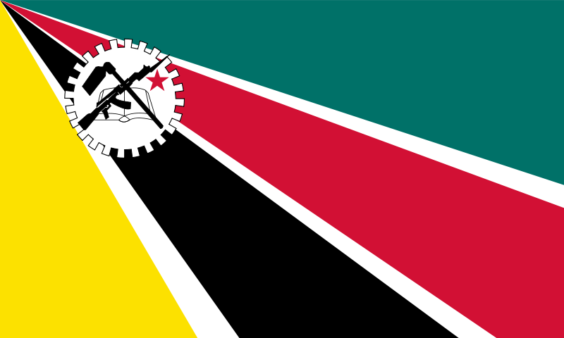 Flag of Mozambique (1975-1983)
