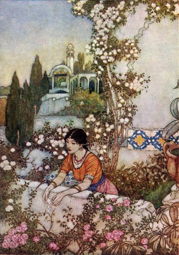 Illustrations to the Rubaiyat (Edmund Dulac)