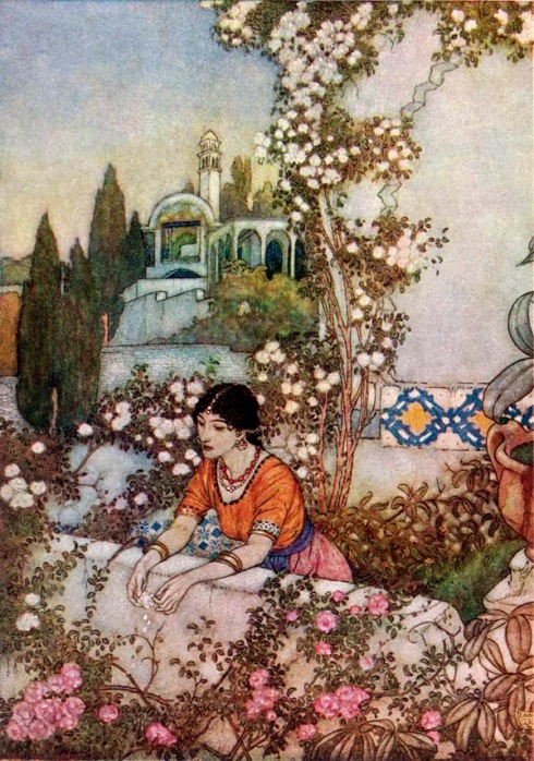 Illustrations to the Rubaiyat (Edmund Dulac)