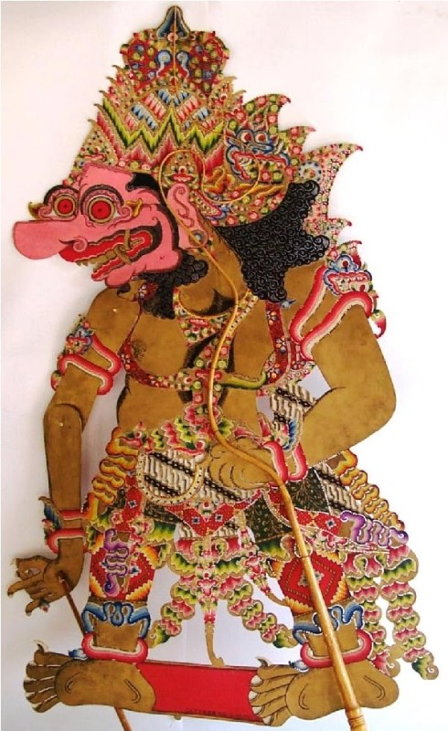 A Niwatakawaca Shadow puppet